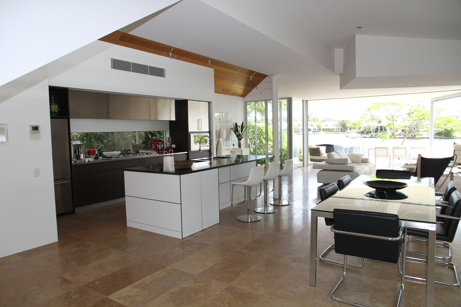 Bauhaus stílus étkező