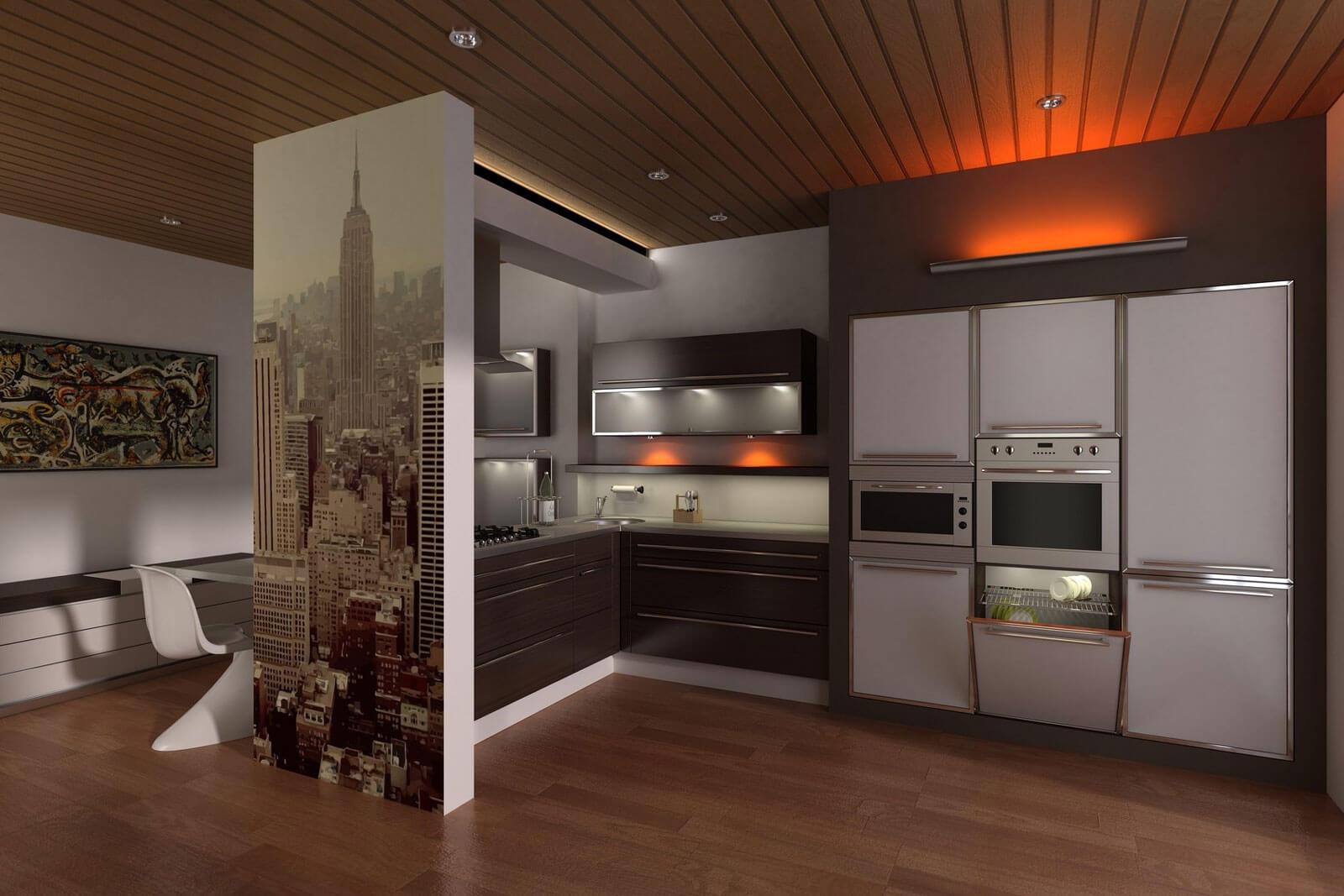 nappali, hálószoba, előszoba, konyha, fürdőszoba tervezés